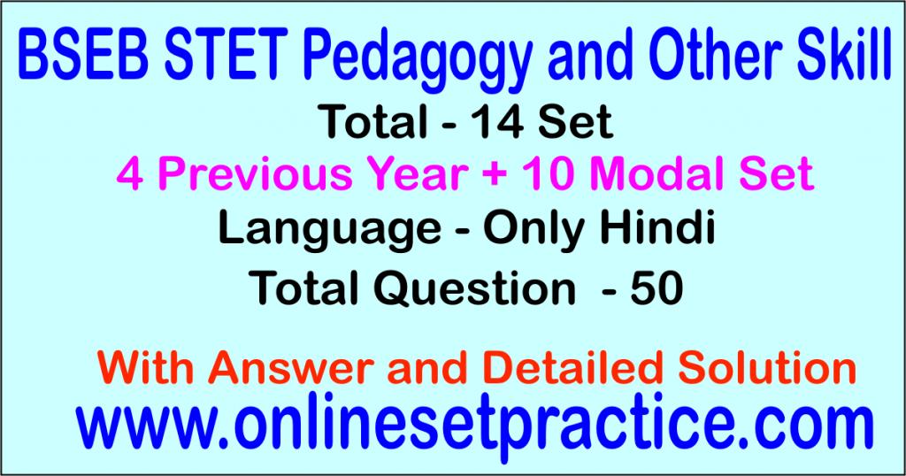 bseb stet pedagogy