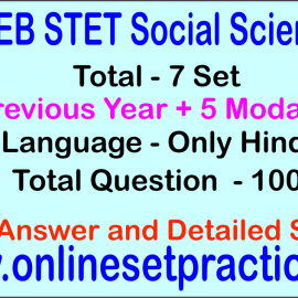 Bihar STET Social Science Online  Test Series